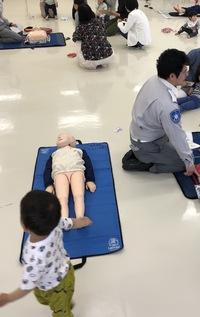 初めての 救急講習  〜親子組〜