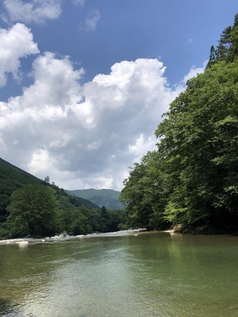 今年も秘境で川遊び   〜川では人は浮きにくい〜