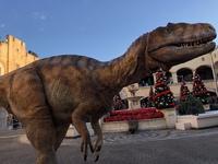 ラグーナ に  恐竜が現れた。