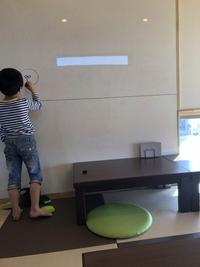 「お惣菜&CAFE縁 en」さんは、キッズスペースの壁にお絵かきできる!