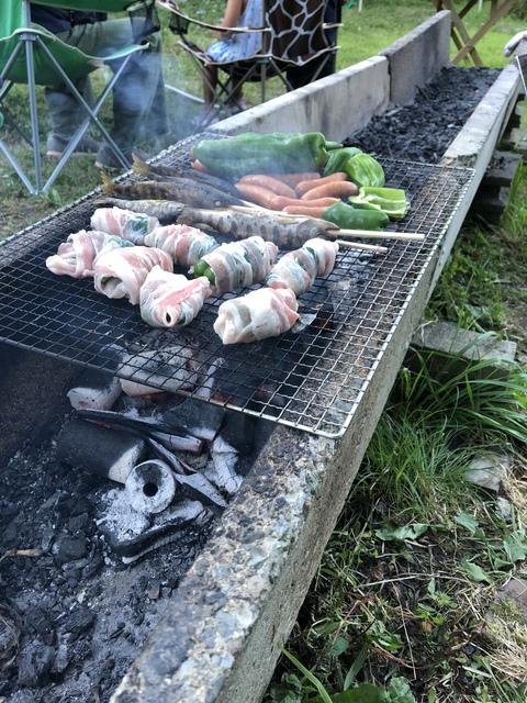 夏キャンプ中の食事って?