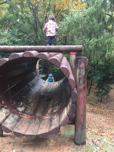 思いっきり遊ぶ子もいれば、遊んでいるつもりだけで満足の子もいる。