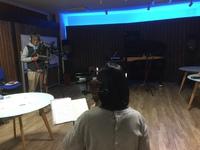 プレゼントソングを、スタジオ録音してきたよ
