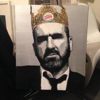 Eric Cantona (エリック カントナ) ステンシル