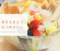 雪をまとう夏野菜