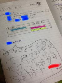 *+゚ママとの交換日記*+゚