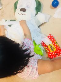 赤ちゃんのイタズラ(*≧艸≦)
