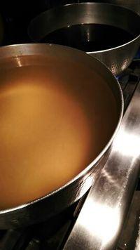 今日のランチのデザートは抹茶シフォンです