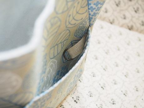 *ハマラボさんの型紙の、がま口スマートバッグ完成しました♪ <nina KOKO >