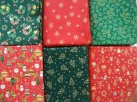 クリスマス柄の生地、入荷しました♪ 〈手芸工房オーロラ豊田店〉