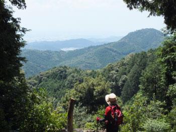 鳥川ホタルの里の山歩きコースの下見をしました!