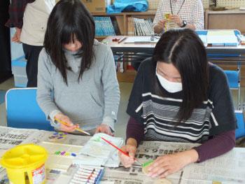 ホタル学校「コンパスアートでおもちゃ作り」を開催しました!