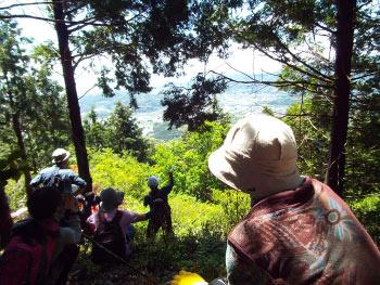 鳥川ホタルの里「音羽富士トレッキング」を開催しました!