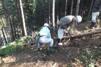 ホタル学校「間伐でホタルの里づくり」を開催しました!
