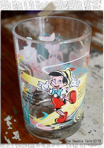 ディズニー×マックのグラス