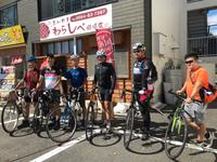 ロードバイク、サイクリング仲間達、立ち寄り