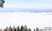 豊田市の小さな新名所に雲海の押山アピール