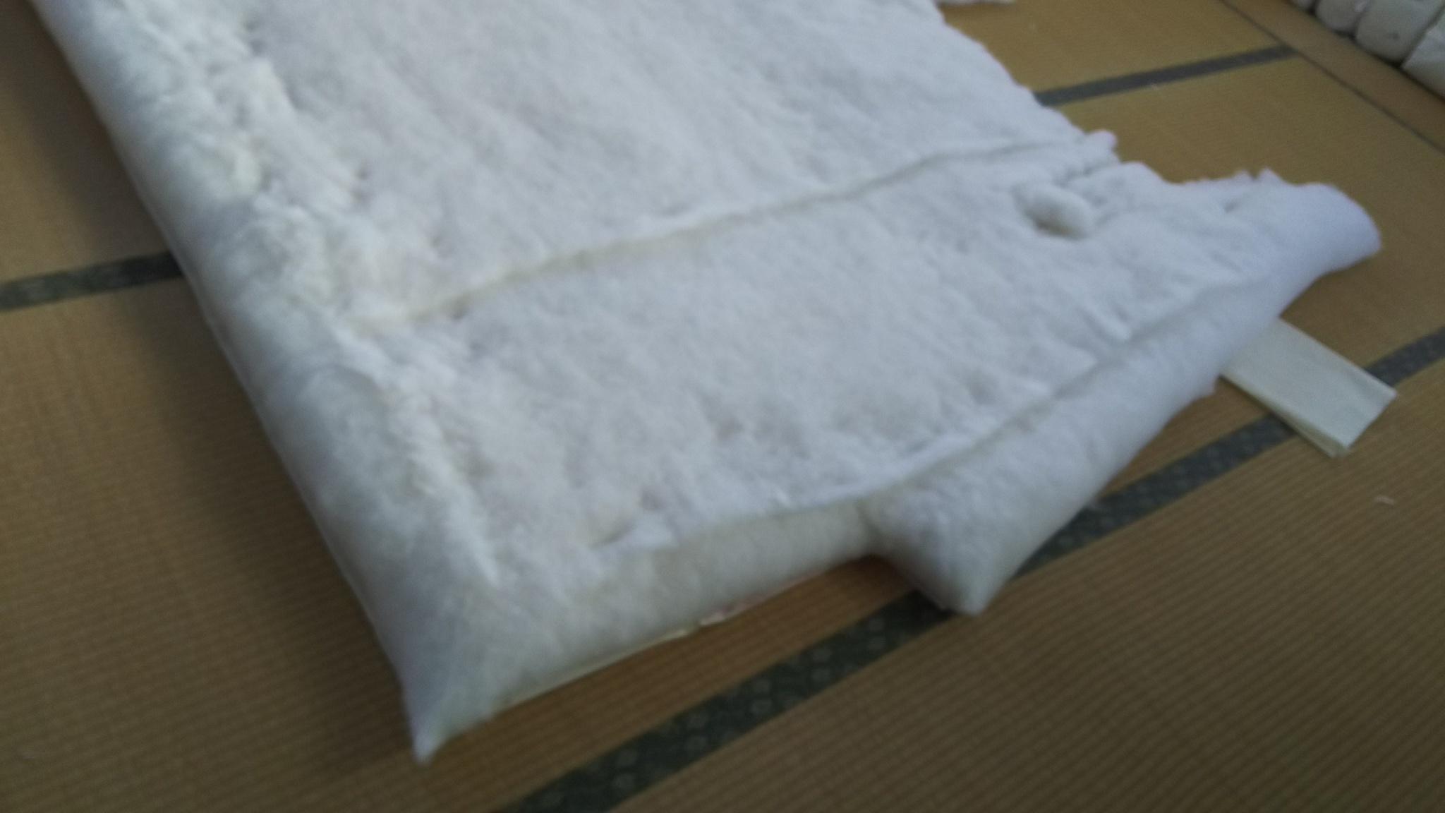 寝具技能1級取得者として、夜着を作りました。
