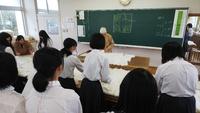 物作り体験授業。