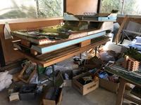 作業小屋の整理