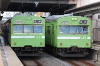 京都にて撮り鉄