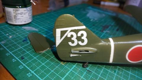 1/48 五式戦闘機&三式戦闘機「飛燕」 製作記②