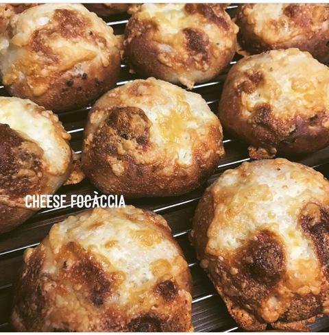 ナッツロール メロンパン チーズフォカッチャ