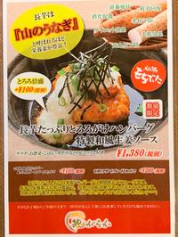 ハンバーグ新メニュー@ほがらか若草店