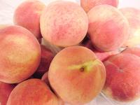 桃のスムージー