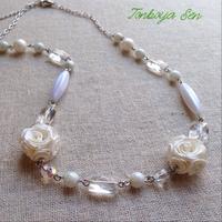 ロザフィと水晶の、ネックレス。 2016/07/07 15:30:44