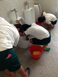 豊田市広川台小学校トイレ掃除開催のご案内