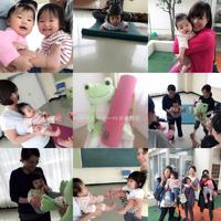 過去写真です♡【ママとベビーのヨガ教室×WARAリズム】