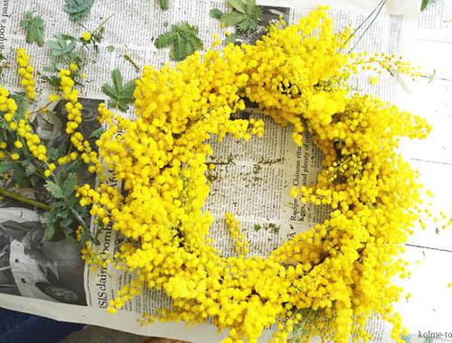 3月8日は国際女性デー「ミモザの日」