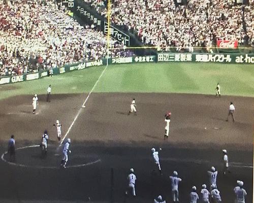 感動の第98回全国高校野球選手権大会/東邦高校