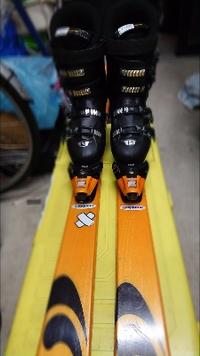スキーブーツを買った❗