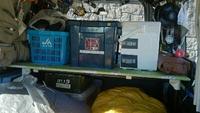 狭い荷物室
