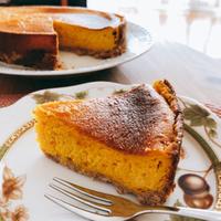 かぼちゃチーズケーキ②