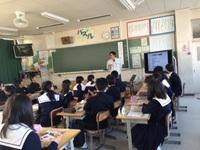 崇化館中学校にて「職業人に学ぶ会」