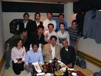 山中浩晃さん社長就任お祝い会/第1期倫理経営塾一同で