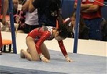 世界体操選手権/落下が続出