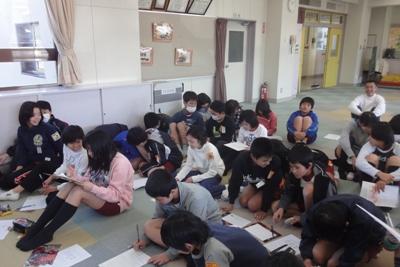 相生小学校での授業担当