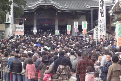 豊川稲荷への初詣