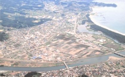 東日本大震災の爪あと