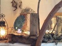 ぬくもりの森でのローズウィンドウ展示会 1日目が終わりました♪