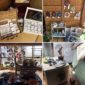 5/18,19はことことさん(豊川市)でanniversaryイベント♪18はワイヤーのワークショップも♪