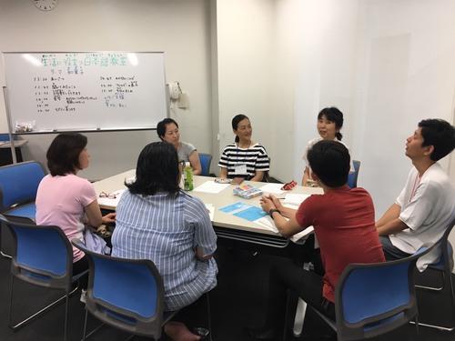 和菓子の見学に行って来ました! 第3回生活に役立つ日本語教室