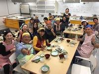 〈子ども・大人合同特別クラス〉料理教室をしました!