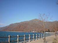 湖にも秋の気配