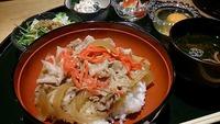 大人気!三州豚丼ランチ! 2014/06/19 11:19:00