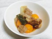 切って煮るだけ♪「豚バラ肉の金柑煮」